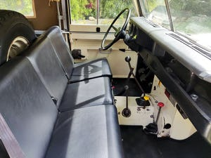 1974 LAND ROVER SERIES 3 SOFT TOP PETROL LHD For Sale (picture 6 of 10)