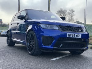 2016 Range Rover Sport SVR For Sale (picture 1 of 12)