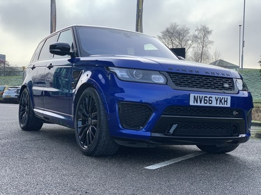 Picture of 2016 Range Rover Sport SVR For Sale