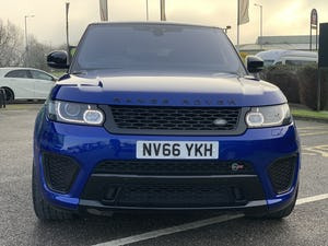 2016 Range Rover Sport SVR For Sale (picture 2 of 12)