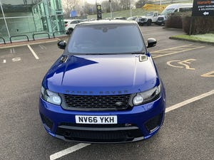 2016 Range Rover Sport SVR For Sale (picture 3 of 12)