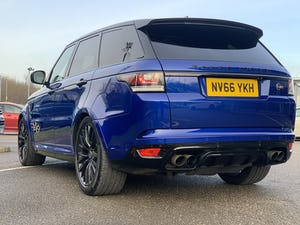 2016 Range Rover Sport SVR For Sale (picture 4 of 12)