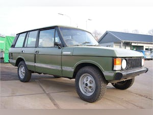 1975 Range Rover Classic LWB coach build For Sale (picture 1 of 7)