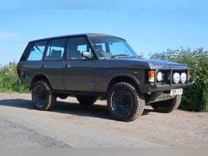 1986 Range Rover Classic 3.5 EFI V8 43,000 miles For Sale (picture 1 of 12)