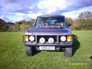1986 Range Rover Classic 3.5 EFI V8 43,000 miles For Sale (picture 1 of 11)