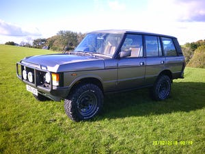 1986 Range Rover Classic 3.5 EFI V8 43,000 miles For Sale (picture 2 of 11)
