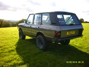 1986 Range Rover Classic 3.5 EFI V8 43,000 miles For Sale (picture 4 of 11)