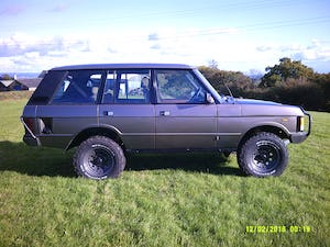 1986 Range Rover Classic 3.5 EFI V8 43,000 miles For Sale (picture 6 of 11)