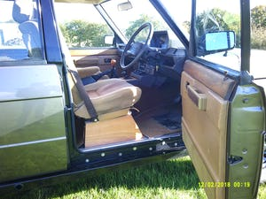 1986 Range Rover Classic 3.5 EFI V8 43,000 miles For Sale (picture 8 of 11)