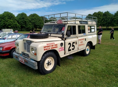 Picture of 1972 London to Dakar rally Land Rover For Sale