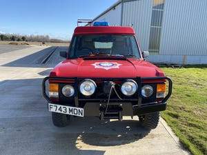 1978 Range Rover 6x6 wheel TACAR fire engine  For Sale (picture 2 of 9)