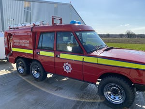 1978 Range Rover 6x6 wheel TACAR fire engine  For Sale (picture 3 of 9)