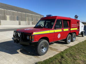 1978 Range Rover 6x6 wheel TACAR fire engine  For Sale (picture 5 of 9)