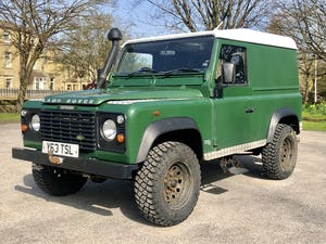 2001 /Y LAND ROVER DEFENDER 90 TD5 For Sale (picture 1 of 6)