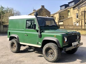 2001 /Y LAND ROVER DEFENDER 90 TD5 For Sale (picture 2 of 6)
