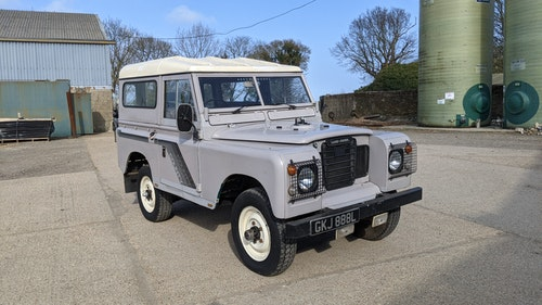 Picture of 1973 Land Rover 88 Petrol Overdrive inch Station Wagon spec. For Sale