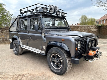 Picture of 2001/51 Defender 110 Tomb Raider Dcab just 81000m For Sale