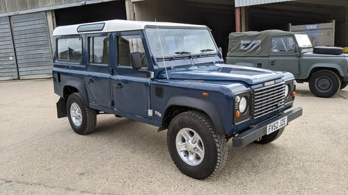 """Picture of 2002 Land Rover 110SW Defender County TD5 """"Bluebird"""" 347 For Sale"""