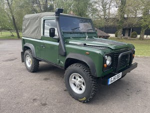 2002 Land Rover Defender 90 TD5 Soft Top For Sale (picture 2 of 9)
