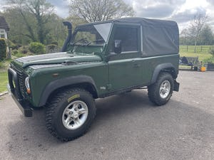 2002 Land Rover Defender 90 TD5 Soft Top For Sale (picture 3 of 9)