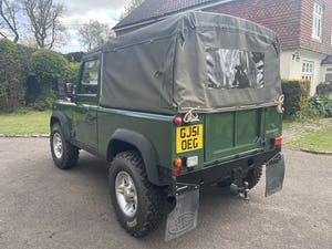 2002 Land Rover Defender 90 TD5 Soft Top For Sale (picture 9 of 9)