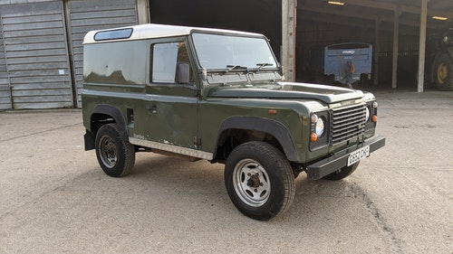 """Picture of 1989 Land rover 90 van """"brad pitt"""" #321 For Sale"""