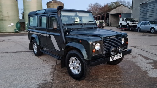 """Picture of 1997 Land rover 110 defender sw tdi """"the pullman"""" #351 For Sale"""