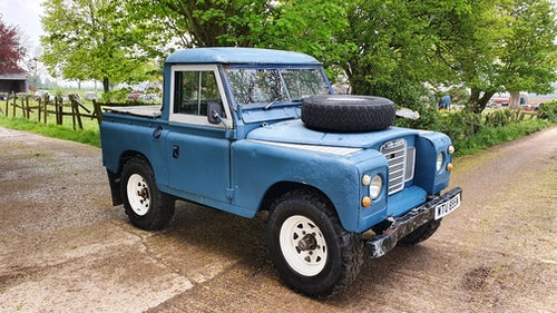 """Picture of 1981 LAND ROVER SERIES 3 88 PICK UP PETROL """"THE SCOTT"""" #325 For Sale"""