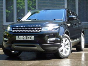 2012 Land Rover Range Rover Evoque 2.2 TD4 Pure AWD 5dr For Sale (picture 2 of 19)