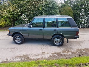 1987 RANGE ROVER CLASSIC 200 TDI – LEFT HAND DRIVE For Sale (picture 7 of 12)