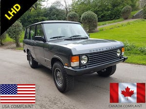 1987 RANGE ROVER CLASSIC 200 TDI – LEFT HAND DRIVE For Sale (picture 1 of 12)