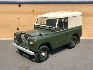 Picture of 1966 LAND ROVER SERIES 2 A 88 // 2.3 4 CYL 74 BHP // 4x4 For Sale