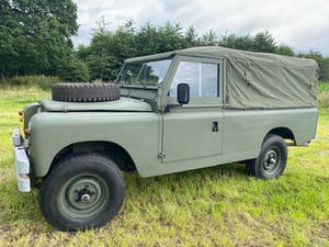 1964 Ex Military Land Rover Series 2a 109 For Sale (picture 4 of 12)