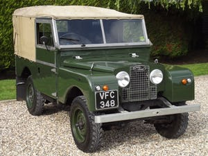 1954 Land Rover Series One 86 inch. Excellent example For Sale (picture 1 of 26)