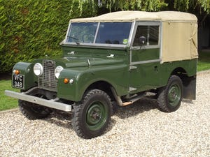 1954 Land Rover Series One 86 inch. Excellent example For Sale (picture 2 of 26)