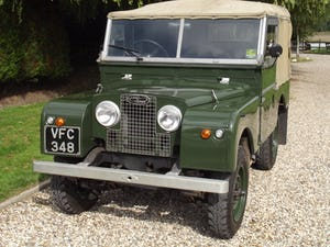 1954 Land Rover Series One 86 inch. Excellent example For Sale (picture 3 of 26)