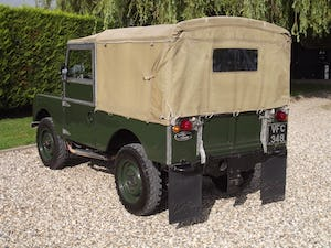 1954 Land Rover Series One 86 inch. Excellent example For Sale (picture 4 of 26)