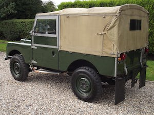 1954 Land Rover Series One 86 inch. Excellent example For Sale (picture 13 of 26)