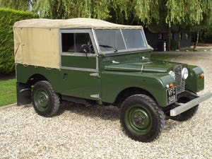 1954 Land Rover Series One 86 inch. Excellent example For Sale (picture 15 of 26)