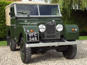1954 Land Rover Series One 86 inch. Excellent example For Sale (picture 16 of 26)