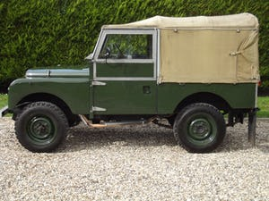 1954 Land Rover Series One 86 inch. Excellent example For Sale (picture 18 of 26)