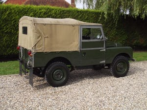 1954 Land Rover Series One 86 inch. Excellent example For Sale (picture 22 of 26)