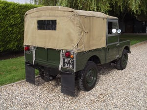 1954 Land Rover Series One 86 inch. Excellent example For Sale (picture 23 of 26)