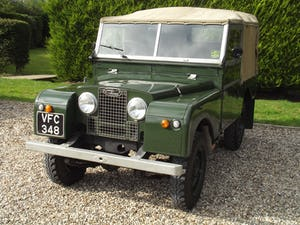 1954 Land Rover Series One 86 inch. Excellent example For Sale (picture 24 of 26)