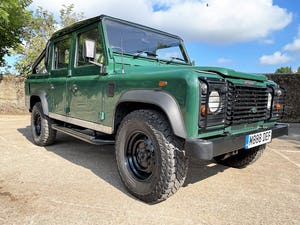 tough looking 2004/54 Defender 110 Double Cab+nice plate For Sale (picture 1 of 35)