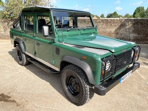 tough looking 2004/54 Defender 110 Double Cab+nice plate For Sale (picture 12 of 35)
