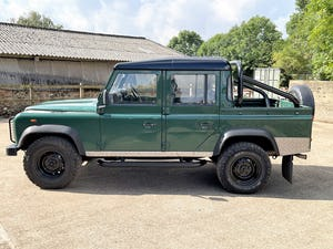 tough looking 2004/54 Defender 110 Double Cab+nice plate For Sale (picture 17 of 35)