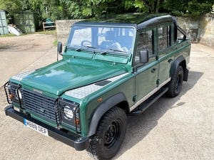 tough looking 2004/54 Defender 110 Double Cab+nice plate For Sale (picture 33 of 35)