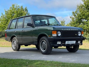 1991 Land Rover Range Rover Vogue 3.9 EFI V8 Auto For Sale (picture 4 of 12)