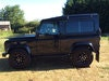 Picture of 1997 Land Rover Defender 90, Galvanised chassis, Black Edition SOLD